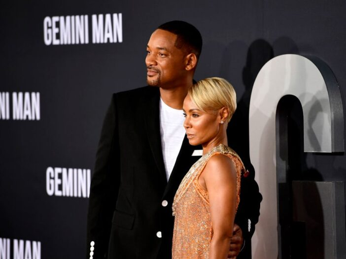 """Jada Pinkett Smith and Will Smith attend Paramount Pictures' Premiere Of """"Gemini Man"""""""