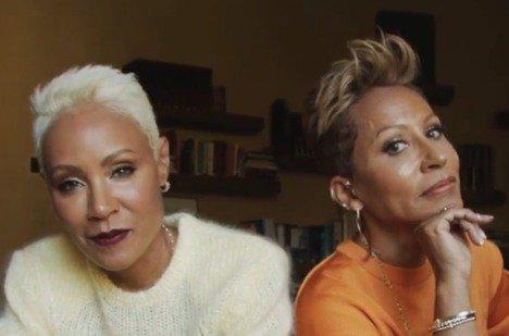 Jada Pinkett Smith with mom Adrienne Banfield-Norris