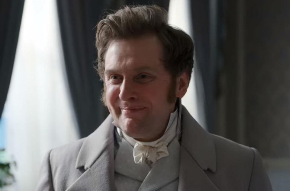 Jamie Beamish as Nigel Berbrooke in 'Bridgerton'.