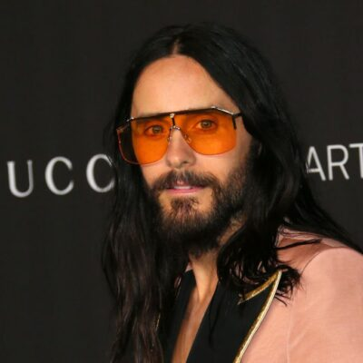 Jared Leto arrives for the 2019 LACMA Art+Film Gala at the Los Angeles County Museum of Art