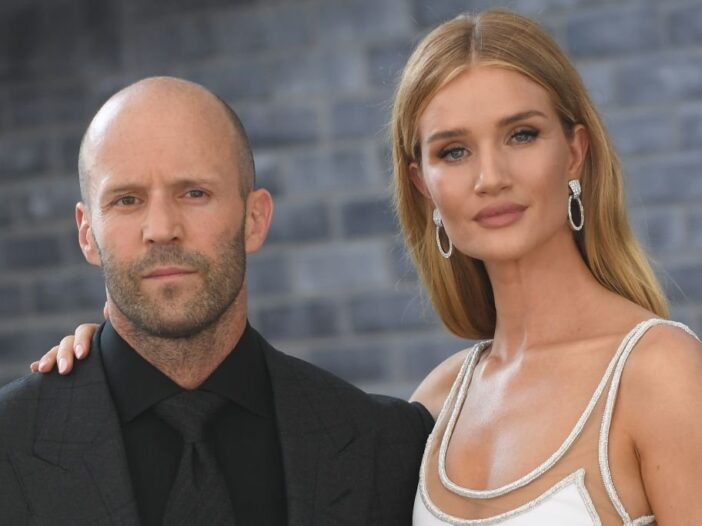 """Jason Statham and Rosie Huntington-Whiteley attend the world premiere of """"Fast & Furious presents Ho"""