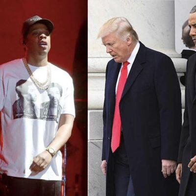 Jay Z Barack Obama Donald Trump
