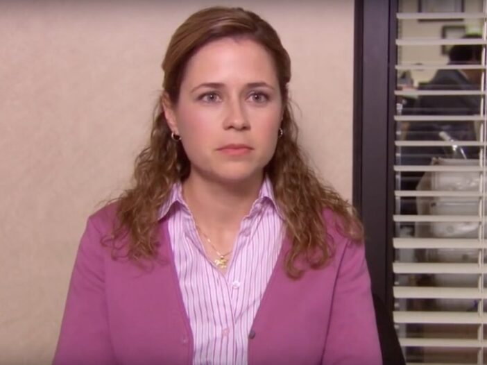 """Jenna Fischer as Pam on """"The Office"""""""