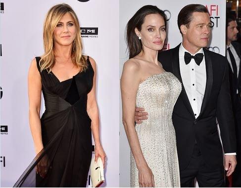 Jennifer Anisiton Angelina Jolie Brad Pitt Divorce Drama