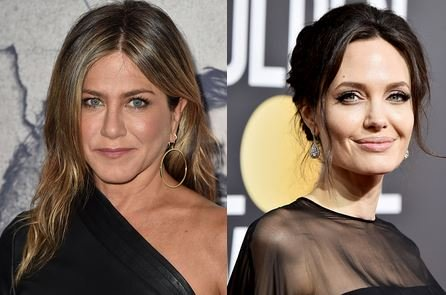 Jennifer Aniston Angelina Jolie Golden Globes Showdown