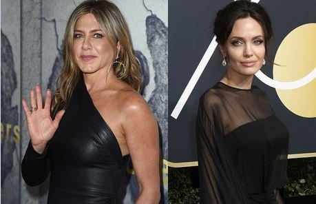 Jennifer Aniston Angelina Jolie End Feud