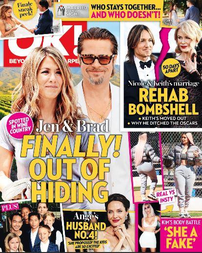 Jennifer Aniston Brad Pitt Hiding