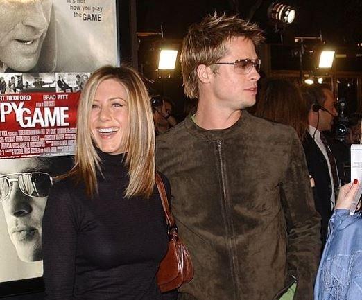 Jennifer Aniston Brad Pitt Married Secret