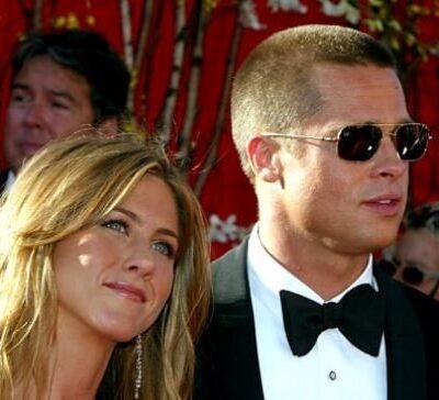 Jennifer Aniston Brad Pitt Oscars
