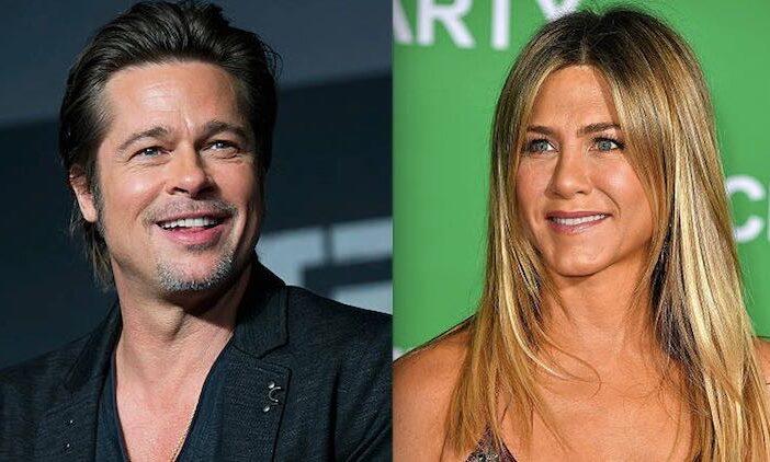 Jennifer Aniston Brad Pitt Public Romance