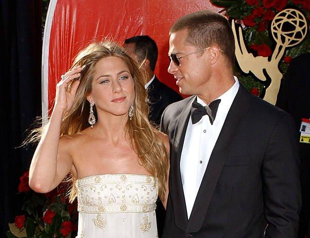Jennifer Aniston Brad Pitt Ring