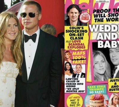 Jennifer Aniston Brad Pitt Wedding Baby