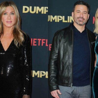 Jennifer Aniston Jimmy Kimmel Wife