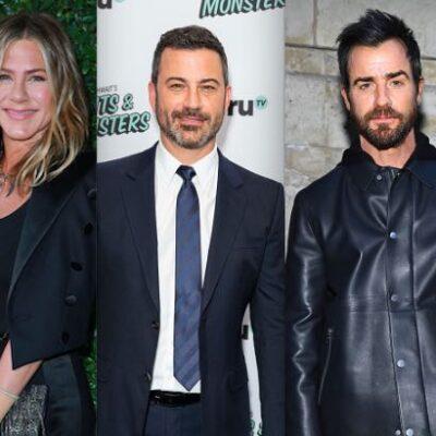 Jennifer Aniston Jimmy Kimmel Justin Theroux