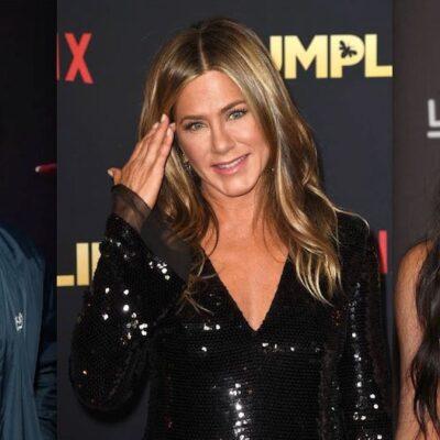 Jennifer Aniston Jimmy Kimmel Kim Kardashian