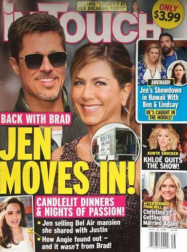Jennifer Aniston Moved In Brad Pitt