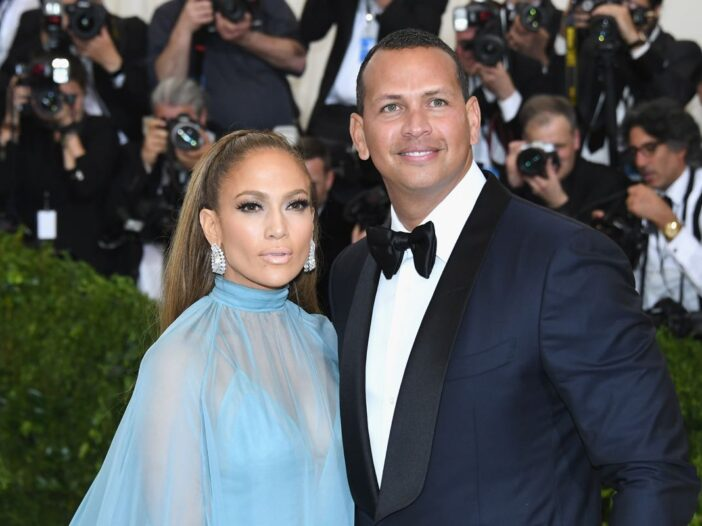 Jennifer Lopez Alex Rodriguez Engaged
