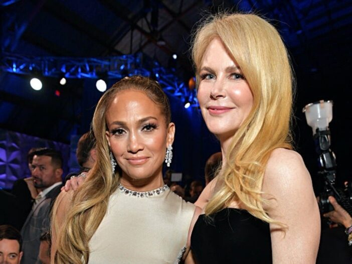 Jennifer Lopez and Nicole Kidman at the Critics' Choice Awards
