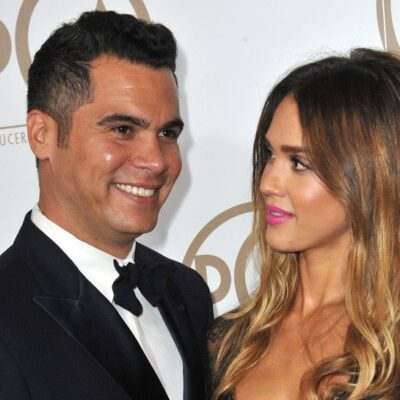 Jessica Alba and husband Cash Warren at the 2013 Producers Guild Awards