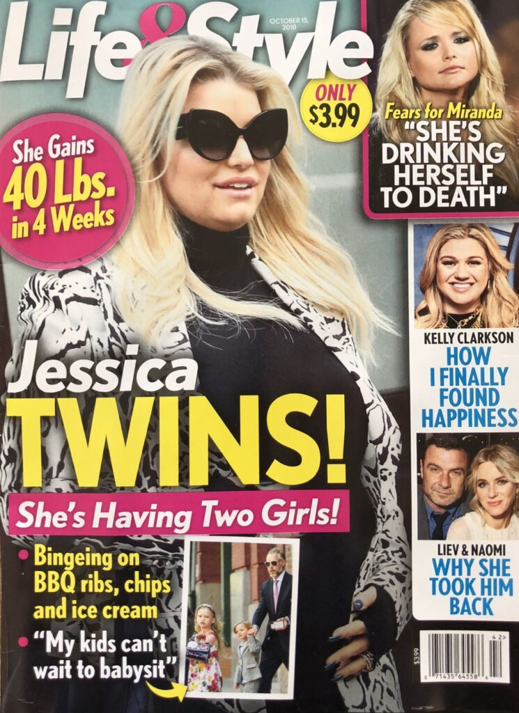 Jessica Simpson Twins