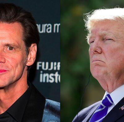 Jim Carrey Donald Trump Reptilian Illuminati