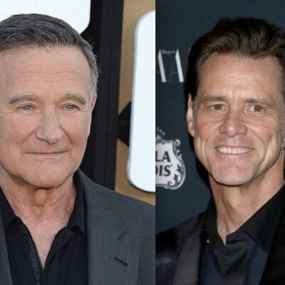 Jim Carrey Robin Williams Feud