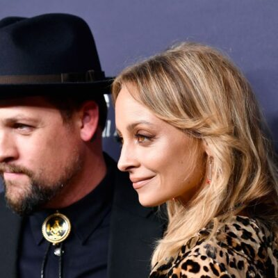 Joel Madden and Nicole Richie attend the 2017 Baby2Baby Gala