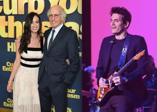 John Mayer Dating Larry David Daughter Cazzie