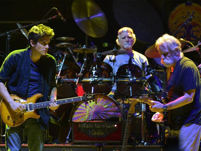John Mayer on stage with Dead & Company