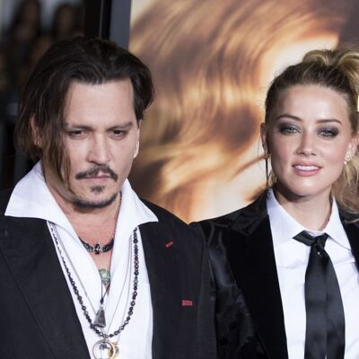 """Johnny Depp and Amber Heard attend the Los Angeles Premiere of """"The Danish Girl"""","""