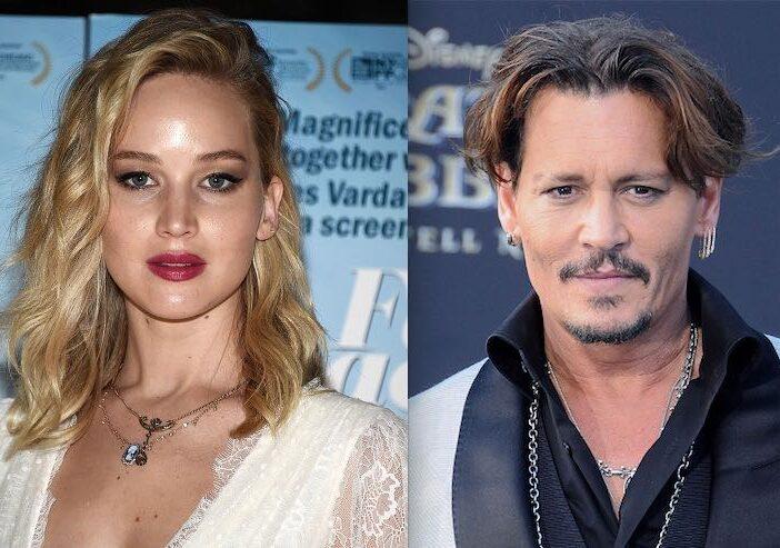 Johnny Depp Jennifer Lawrence Dating