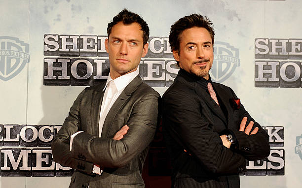 Jude Law Sherlock Holmes Robert Downey Jr