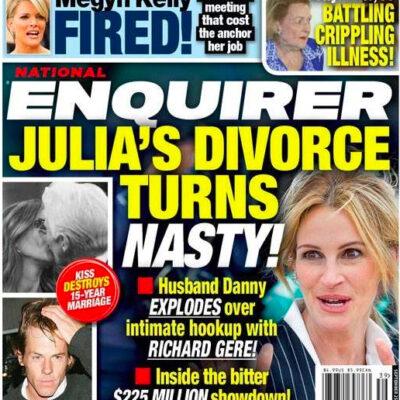 Julia Roberts Divorce Richard Gere