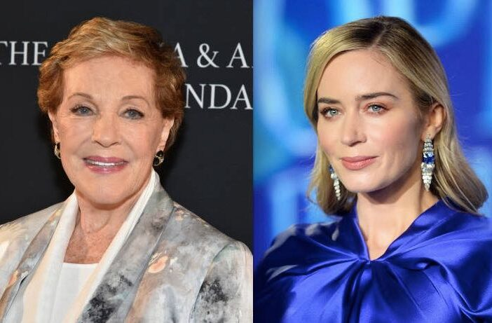Julie Andrews Emily Blunt Mary Poppins