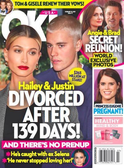 Justin Bieber Hailey Baldwin Divorce
