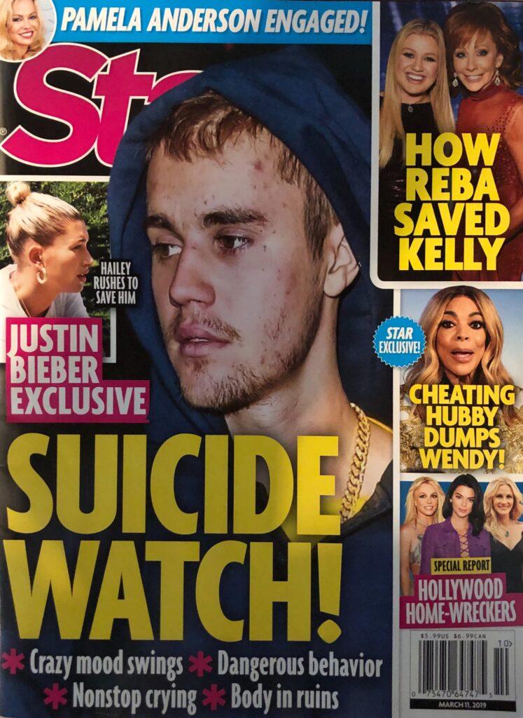 Justin Bieber Suicide Watch