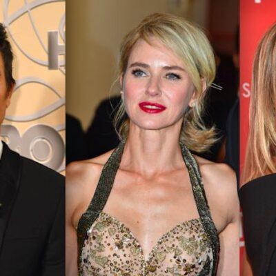 Justin Theroux Naomi Watts Jennifer Aniston