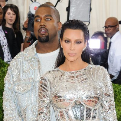 Kanye West and Kim Kardashian at the Met Gala in 2016.