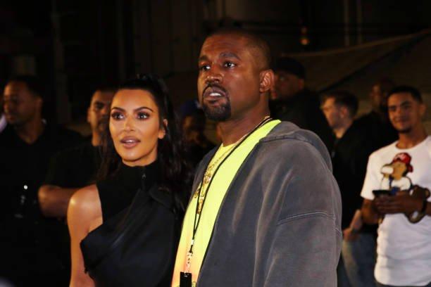 Kanye West Kim Kardashian Saint
