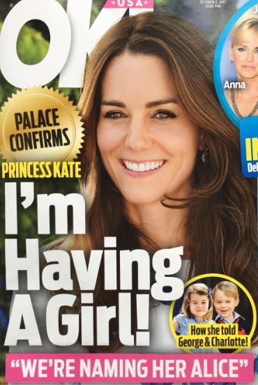 Kate Middleton Girl Palace Confirms