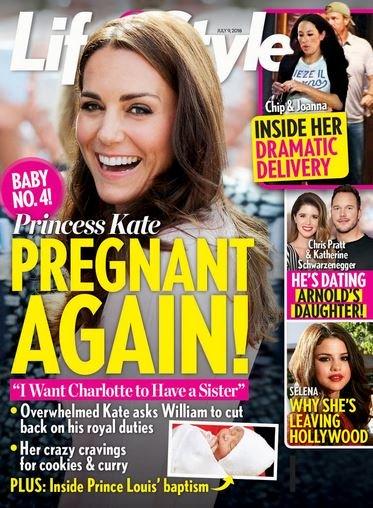 Kate Middleton Pregnant Baby 4