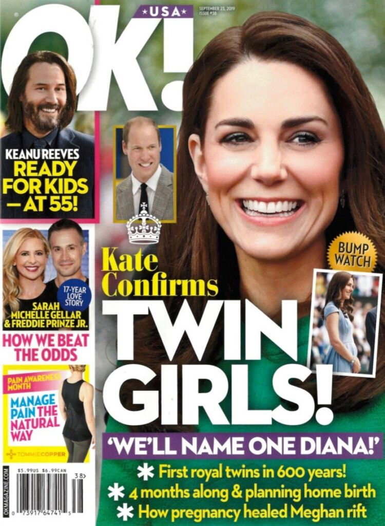 Kate Middleton Pregnant Twin Girls