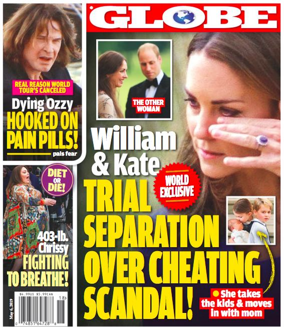Kate Middleton Prince William Separated