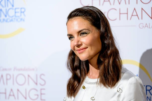 Katie Holmes attends the 2019 Skin Cancer Foundation's Champions For Change Gala