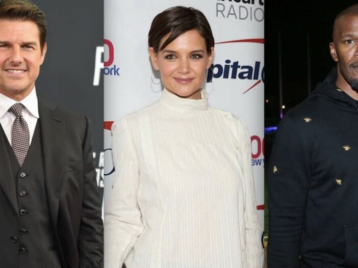 Katie Holmes Jamie Foxx Tom Cruise Suri