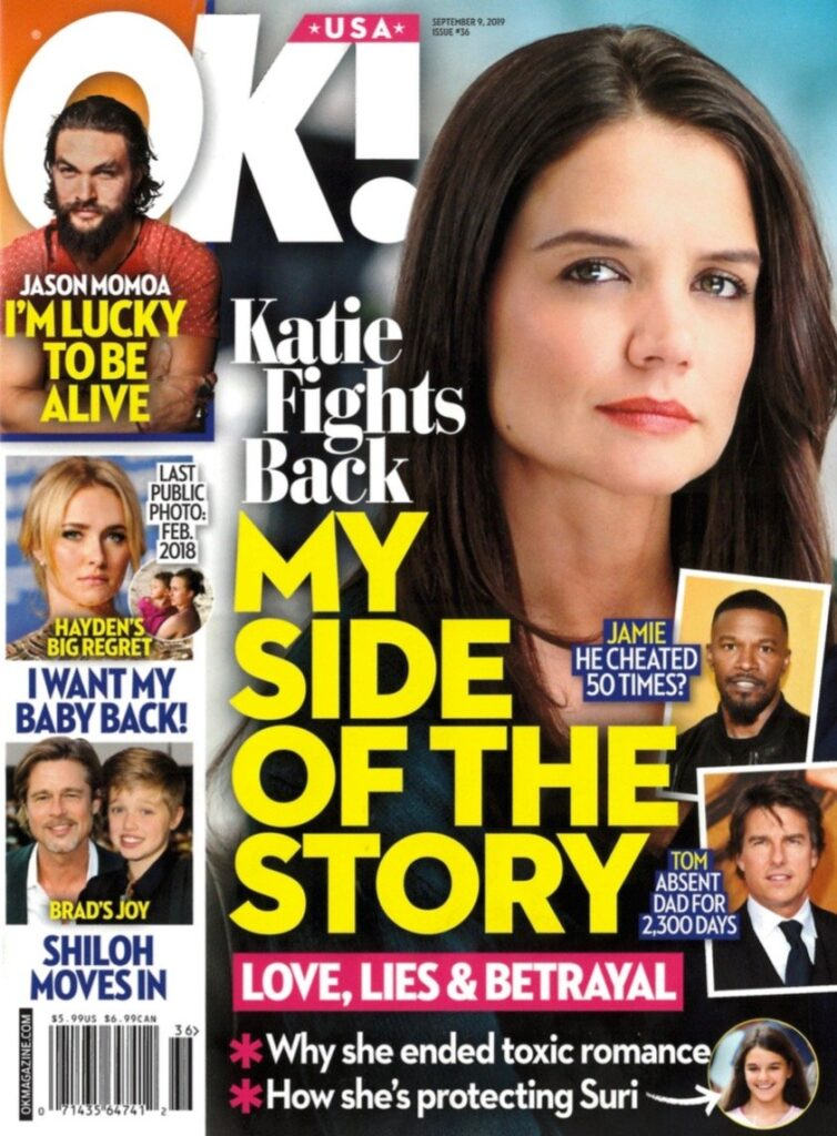 Katie Holmes Jamie Foxx Tom Cruise Speaking Out