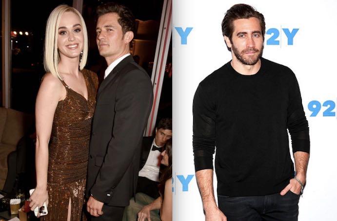 Katy Perry Jake Gyllenhaal Orlando Bloom