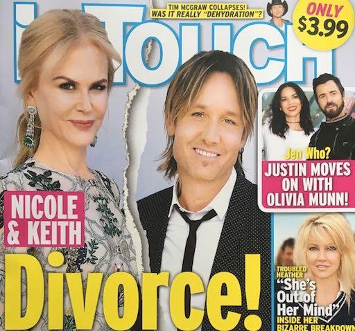 Keith Urban Nicole Kidman Divorce