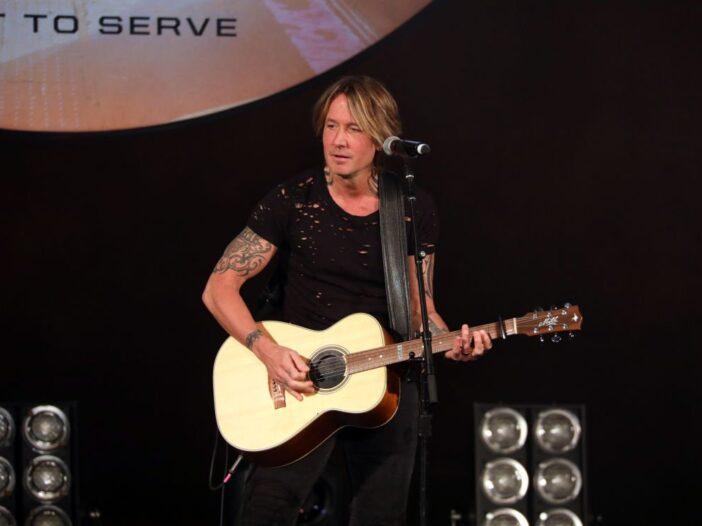 """Keith Urban performs on stage during """"Stars and Strings Presented by RAM Trucks Built to Serve,"""" a R"""