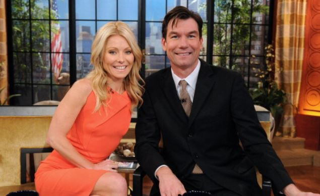 Kelly Ripa Jerry O'Connell Live